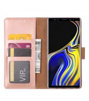 PM - Book Case Samsung Galaxy Note 9 Licht Roze