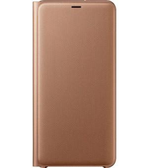 Samsung Galaxy A7 Wallet Cover Goud