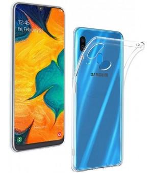 PM SILICONE CASE Samsung Galaxy A20e Clear