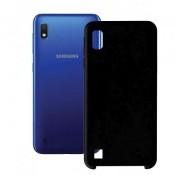 PM - SILICONE CASE Samsung Galaxy A10  Zwart