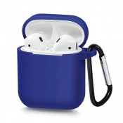 Silicone Case voor Apple Airpods Blauw