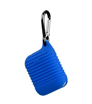 Silicone Protective Case voor Apple Airpods Blauw