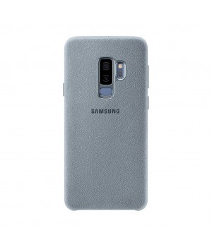 Samsung Galaxy S9 Plus Alcantara Back Cover Mint