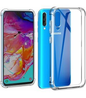 PM Anti Shock Case Galaxy A70 Clear