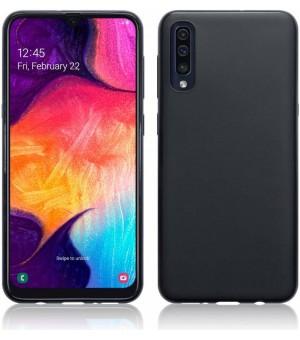 PM - SILICONE CASE Samsung Galaxy A70 Zwart