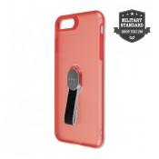4Smarts Clip On Hoesje met vingerriem iPhone 8 / 7 Rood