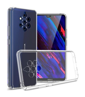 PM Silicone Case Nokia 9 PureView Clear