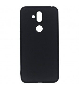 PM Silicone Case Nokia 8.1 Zwart