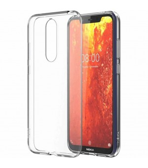 PM Silicone Case Nokia 8.1 Clear