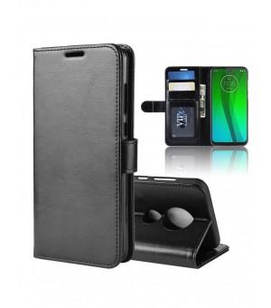 PM Book Case Motorola Moto G7 Plus Zwart