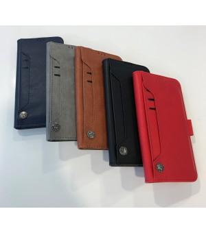PM Book Case Samsung Galaxy S10 Plus Grijs