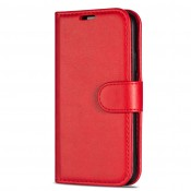 Rico Vitello Genuine Leather Wallet iPhone 11 Rood