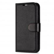 Rico Vitello Genuine Leather Wallet iPhone 11 Zwart