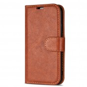 Rico Vitello Genuine Leather Wallet iPhone 11 Pro Bruin