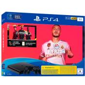 Sony PlayStation 4 Slim 1TB FIFA 20 bundel + 2e Controller Zwart