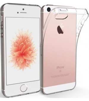 PM Silicone Case iPhone SE / 5S / 5 Clear