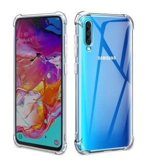 PM Anti-Shock Case Galaxy A50 Clear