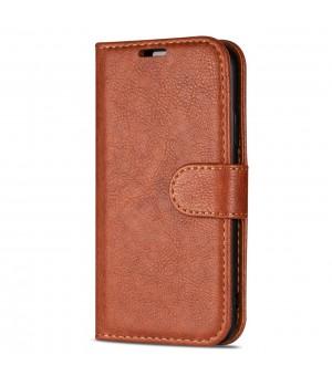 PM Book Case Galaxy A70 Bruin