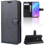 PM - Book Case Xiaomi Mi 9 Lite Zwart