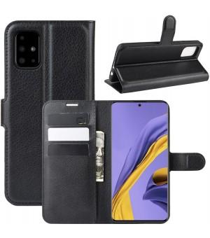 PM Book Case Samsung Galaxy A51 Zwart