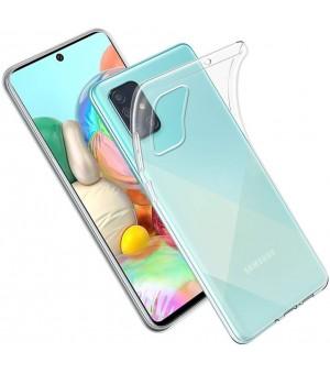 PM Silicone Case Samsung Galaxy A51 Clear