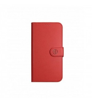 Rico Vitello Genuine Leather Wallet Case Galaxy S9 Plus Rood