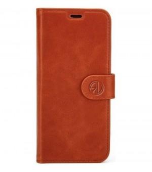 Rico Vitello Genuine Leather Wallet Galaxy S10 Plus Bruin