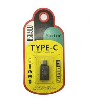 Earldom OTG USB Adapter naar Type-C Voor Smartphones en Tablets
