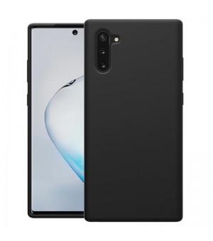 PM - Silicone Case Samsung Galaxy Note 10 Zwart