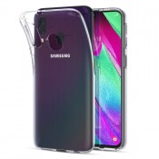 PM - SILICONE CASE Samsung Galaxy A40 Clear