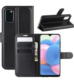PM Book Case Samsung Galaxy A41 Zwart