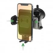 4smarts Inductive VoltBeam Touch 10W Autohouder & Draadloze Snellader Zwart