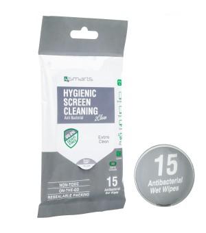 4smarts Anti Bacteriële Schoonmaakdoekjes 15 st.