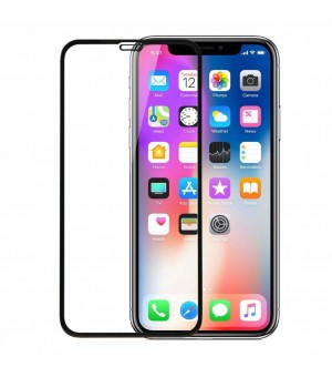 PM Screen Protector Tempered Glass iPhone 11 / XR Zwart