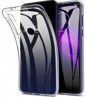 PM Silicone Case Moto G8 Clear