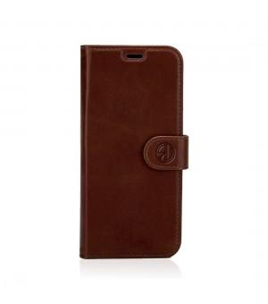 Rico Vitello Genuine Leather Wallet iPhone 11 Pro Max Donker Bruin