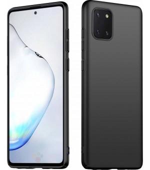 PM - Silicone Case Samsung Galaxy Note 10 Lite Zwart