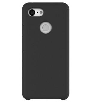 Google Pixel 3 XL silicone zwart