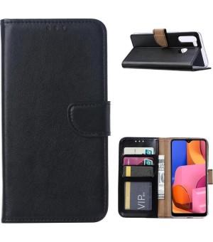 PM Book Case Galaxy A21s Zwart