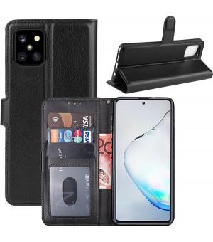 PM Bookcase Samsung Galaxy Note 10 Lite Zwart