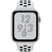 Apple Watch Series 4 40MM Nike+ GPS/4G MTX62FD/A Zilver Sportband