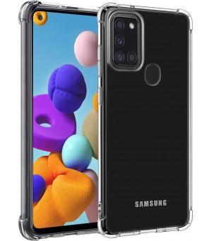 PM Anti-Shock Case Galaxy A21s Clear