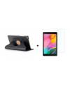 PM Book Case Zwart + Screen Protector Galaxy Tab A 2019 8.0 T290/T295