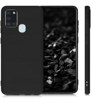 PM Samsung Galaxy A21s Silicone Case Zwart