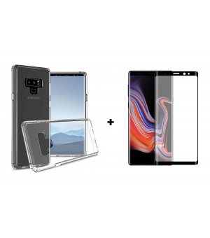 PM Transparant Siliconen Hoes + Screen Protector Galaxy Note 9