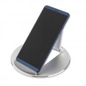 4Smarts Aluminium Smartphone en Tablet Standaard Zilver