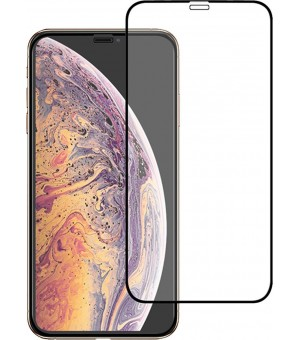 PM Tempered Glass Full Screen Protector iPhone Xs / X Zwart