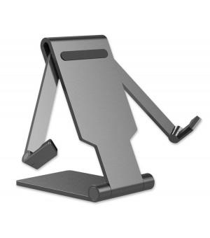 4smarts Universele Smartphone en Tablet Houder Grijs