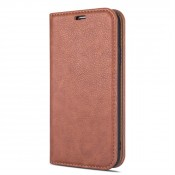Rico Vitello Magnetic Book Case iPhone 12 Bruin