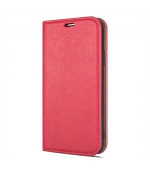 Rico Vitello Magnetic Book Case iPhone 12 Pro Max Rood